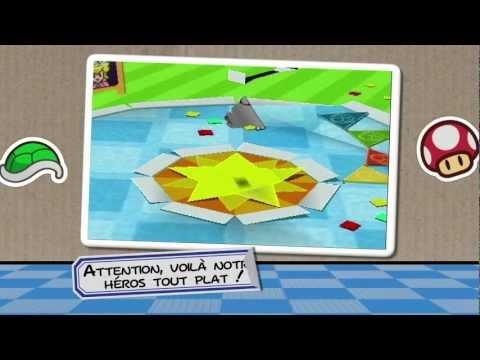 Paper Mario : Sticker Star - Trailer Français