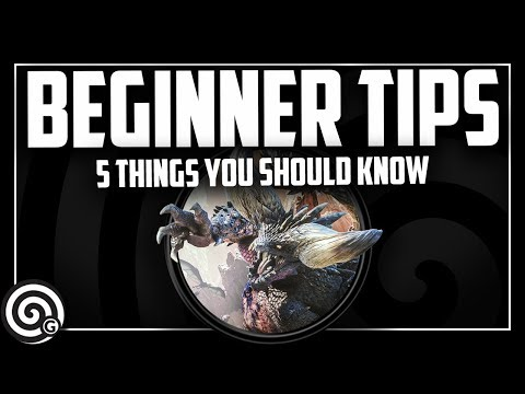 Top 5 BEGINNER TIPS (2019)| Monster Hunter World