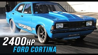 2400hp Ford Cortina: How To Run 6s On 275 Drag Radials