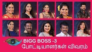 vijay tv bigg boss season 3 contestants list - TH-Clip