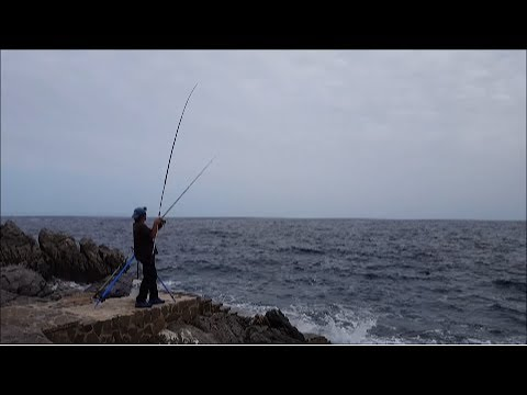 Video che pesca con Sergey Popov di video