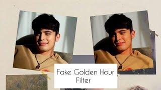 How To Fake Golden Hour Using Vsco Tutorial 2019