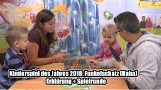 Kinderspiel des Jahres 2018: Funkelschatz (Haba) - Erklärung + Spielrunde mit der Autorin