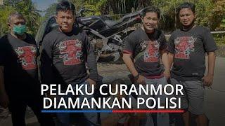 Beraksi di Masjid, Pencuri Motor di Padang Ditangkap, Tangan Diborgol, Mata Dilakban