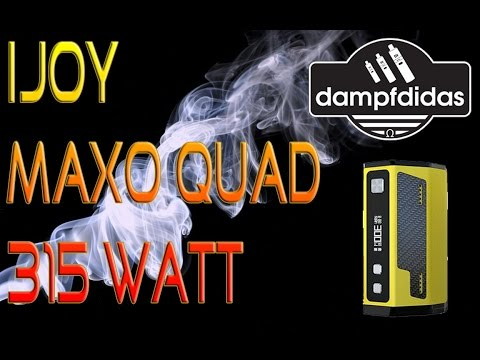 YouTube Video zu IJoy Maxo Quad Box Akkuträger 315 Watt