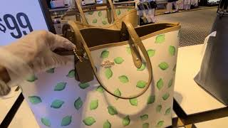 Coach Outlet! A Few New Retail Bags! SALE 60-70% OFF! Shop With Me!