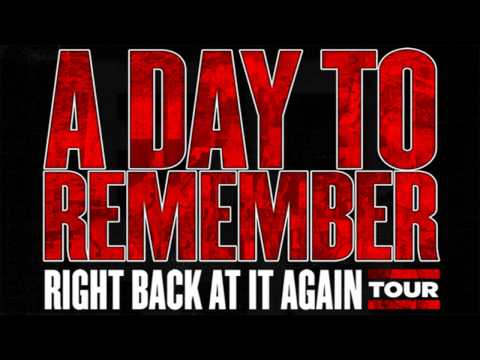A Day To Remember   Right Back at it Again New Song!)(Free Download!)