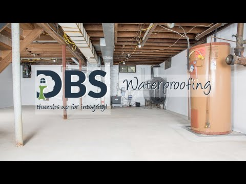 DBS Residential Solutions - Waterproofing Video