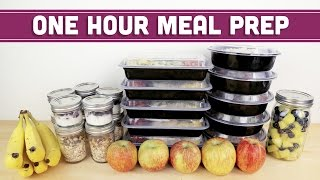 ONE HOUR Meal Prep For The Week! - Mind Over Munch