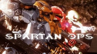 Halo: Spartan Ops Story (All Cutscenes/Episodes HD 1080p)