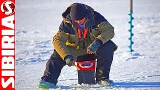 Ловля плотвы по первому льду на водохранилище