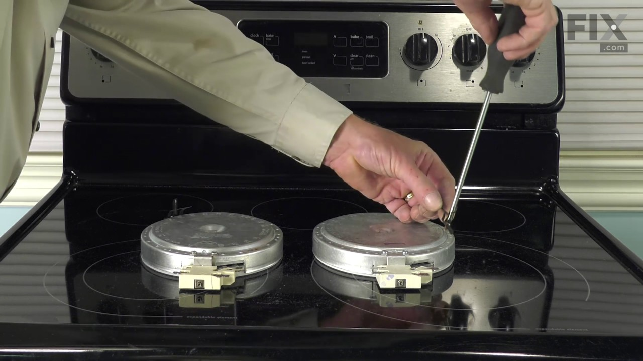 Replacing your Frigidaire Range Radiant Element with Limiter - 1200W