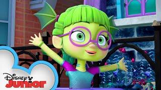 Swampy Splash | Vampirina | @Disney Junior