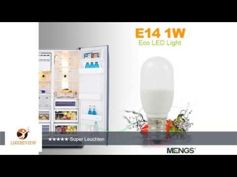 MENGS® 10 Stück E14 0.5W LED lampe 3x5050 SMD Für Kühlschrank Leuchtmittel Mit PCB Mantel (60LM,