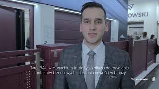 Wiśniowski na targach BAU 2019 w Monachium