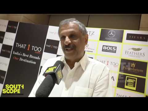Mr Mahadevan of Hot Breads on winning an award at the presitigious SouthScope Lifestyle Awards