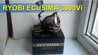 Безынерционная катушка ryobi ecusima 3000
