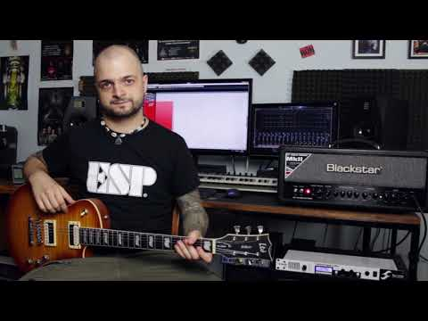 LTD EC-1000T pickup comparison: EMG vs. DiMarzio vs. Fishman Fluence