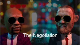 MMA Comedy Animations : The Negotiation -  Conor McGregor Negotiating Floyd Mayweather for the fight