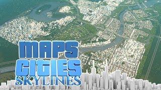 Meine erste Stadt! 180.000 Einwohner! - Cities Skylines Map (Save Game)