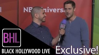 """Ryan Eggold from NBC's """"The Blacklist"""" interview on Black Hollywood Live"""