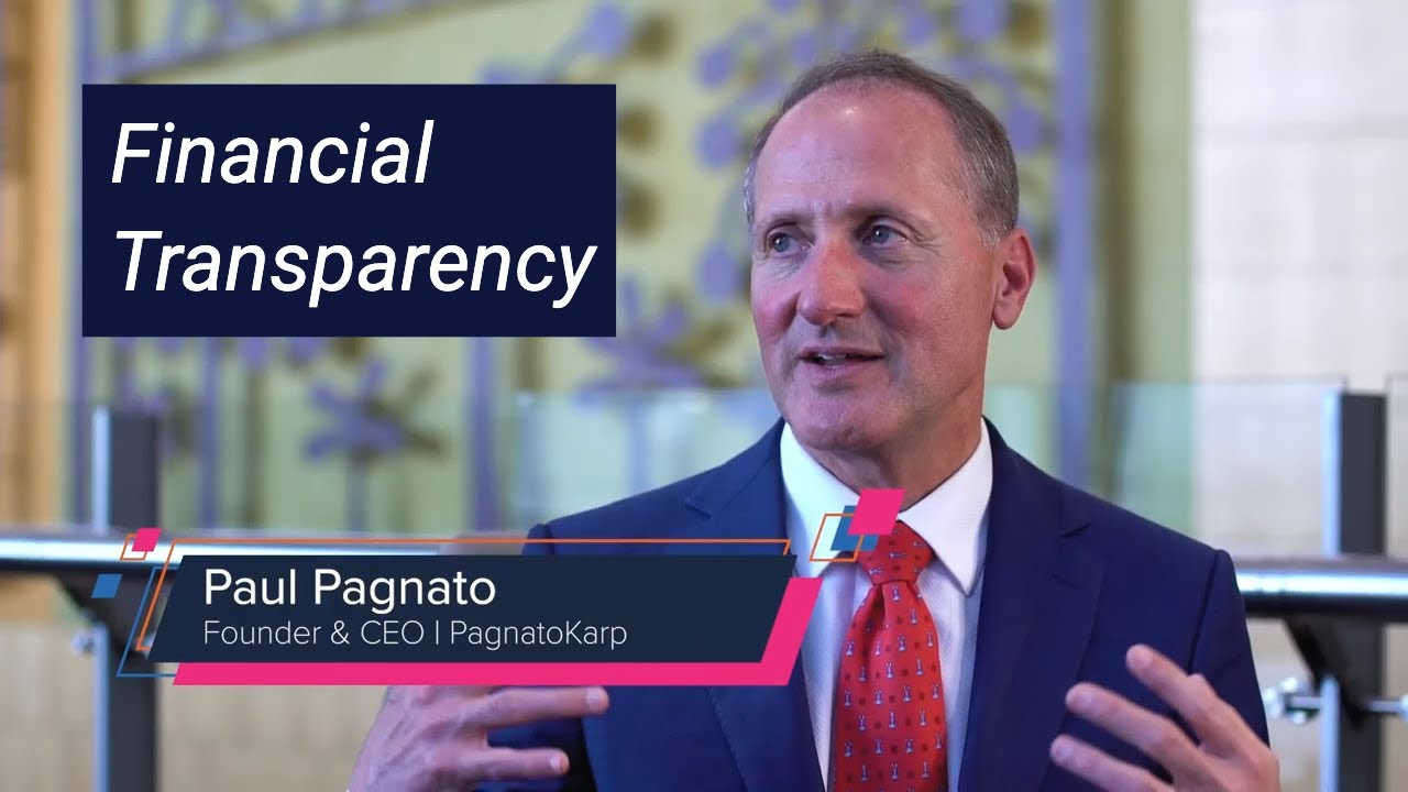 Financial transparency – Wealth management with Paul Pagnato – S2 E13