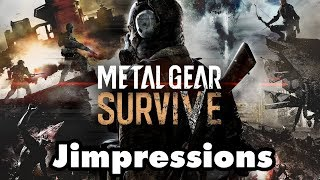 Metal Gear Survive - It Is Shit (Jimpressions)