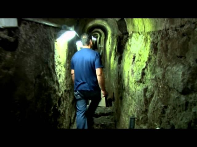 צפו: נתגלו בירושלים מקומות המסתור של היהודים שהיו בימי חורבן הבית השני