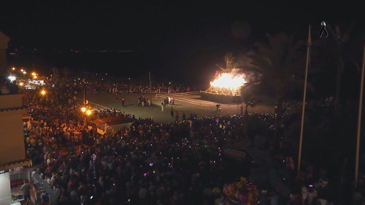 Suspendidas la Noche de San Juan, Luna Llena y 24 Horas