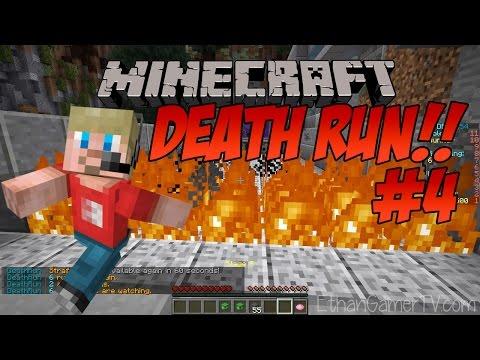 Ethan plays Minecraft Deathrun (#4)   Kid-friendly Video