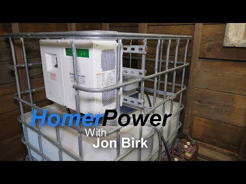 Homerpower - The worlds first portable self contained micro hydro system.