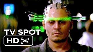 Transcendence TV SPOT  Human 2014  Johnny Depp SciFi Movie HD