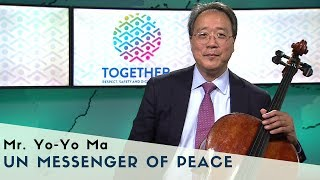 UN Messenger of Peace Yo-Yo Ma adds his voice to TOGETHER
