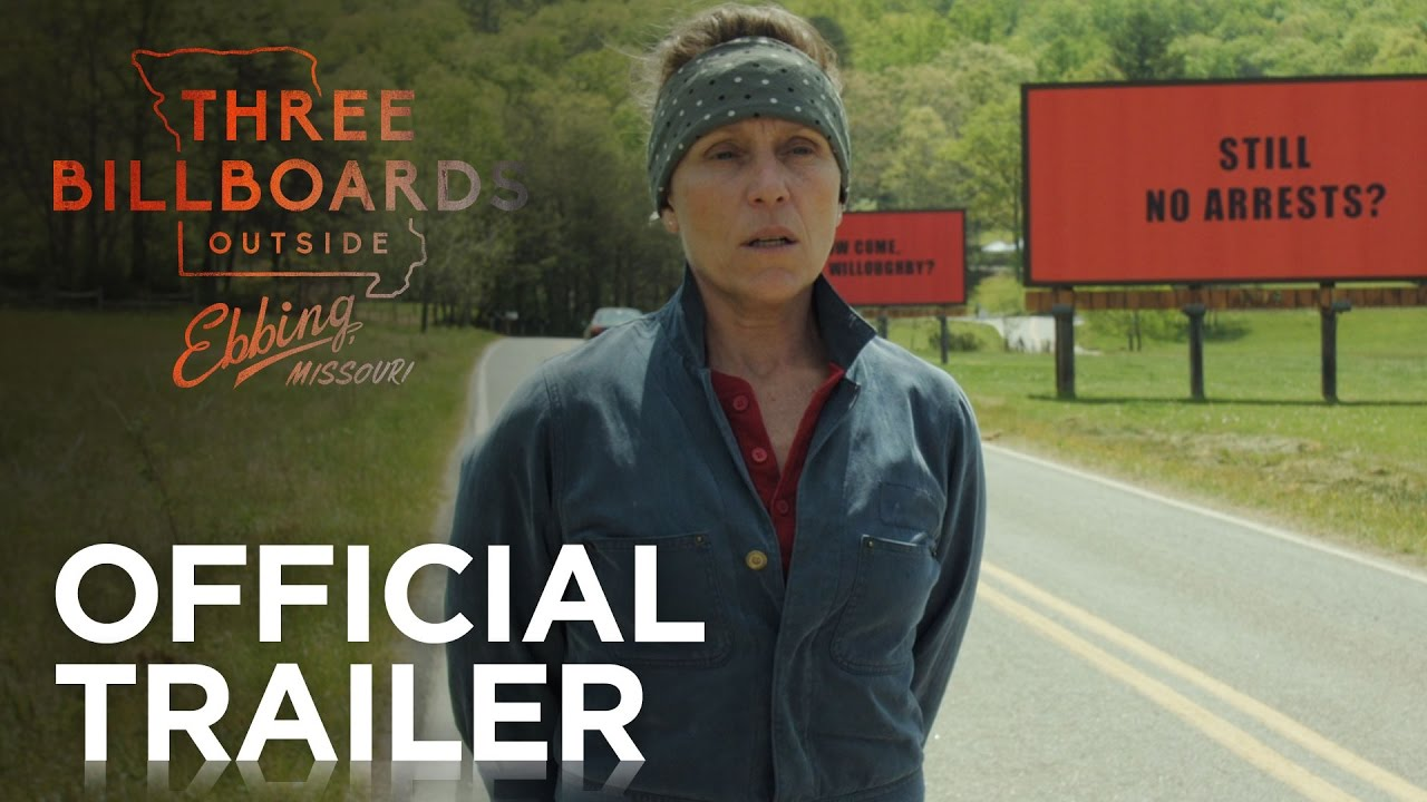 Trailer för Three Billboards Outside Ebbing, Missouri
