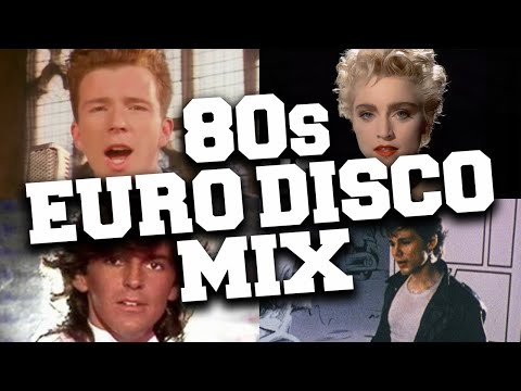 Euro Disco Hits 80's Mix ? 80's Best Euro-Disco & Synth Pop Dance