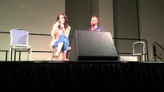Бриджет Риган, Bridget Regan Panel at Space City Comic Con 2015