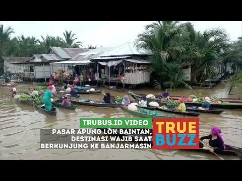 Pasar Apung, Destinasi Wajib di Banjarmasin