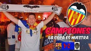 REACCIONANDO 🏆🦇VALENCIA CF CAMPEÓN🦇🏆 [FC Barcelona 1-2 Valencia CF I Final Copa Del Rey 2019] ⚽⚽