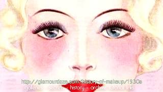 History Of Makeup - The 1930s