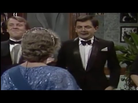 The Classic Moment Mr. Bean Met the Queen