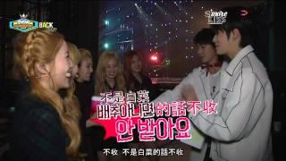 【S'moreKiss中字】150411 Red Velvet - Show Champion back stage
