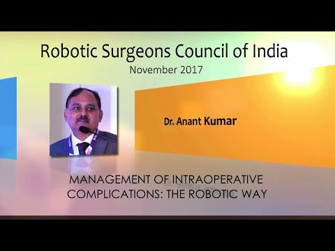 Management of Intra-Operative Complications: the Robotic Way
