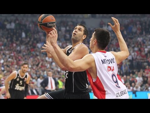 Highlights: Crvenza Zvezda Telekom Belgrade-Real Madrid