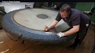 Paiste Gong Shop finishing touches