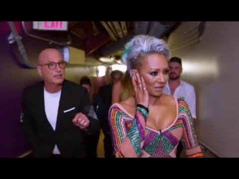 Simon Cowell Responds To His LIVE TV Fight with Mel B on America's Got Talent (видео)