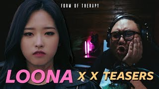 """Producer Reacts to ALL LOONA """"X X"""" TEASERS"""