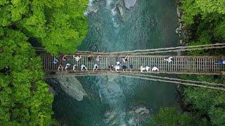 目的地は「原風景」徳島の山あいに外国人が列
