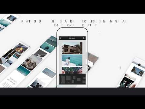 Vídeo do Unfold - Story Creator