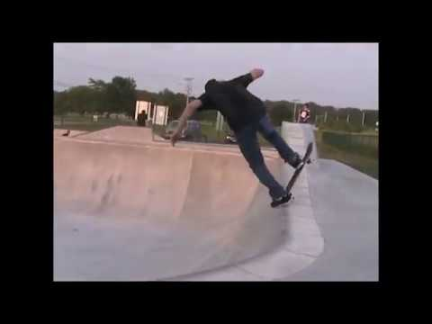 Lake Delton, Wisconsin Skatepark Mini DV Montage-  Brandon Hanson And Friends.