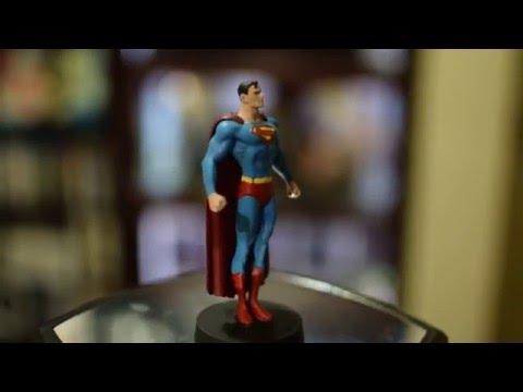 DC Comics Figurine Plomb Eaglemoss N2 Superman + fascicule